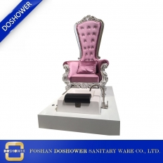 China wholesale king throne pedicure chair high quality cheap king throne chair pedicure chair manufacturer DS-Queen D factory