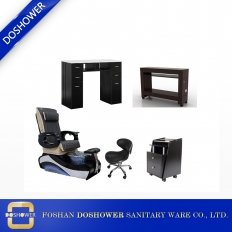 China wholesale manicure pedicure chair manicure table station nail salon furniture supplies DS-W88 set factory