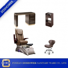 China wholesale pedicure chair set luxury nail spa chair cheap spa pedicure chair salon furniture DS-X22 SET factory