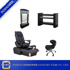 China wholesale pedicure chair with manicure table set china spa pedicure chair package supplier DS-W1900 SET factory