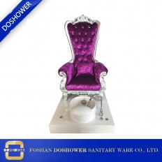 China wholesale throne pedicure chair whirlpool spa pedicure chair queen chair suppliers china DS-Queen C factory