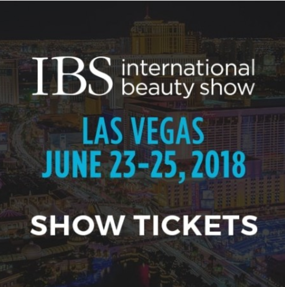 IBS lasvegas international beauty show 2018 in June