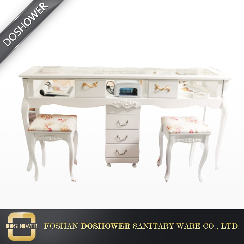 DS-650 2018 wholesale salon nail table manicure table with wooden ...
