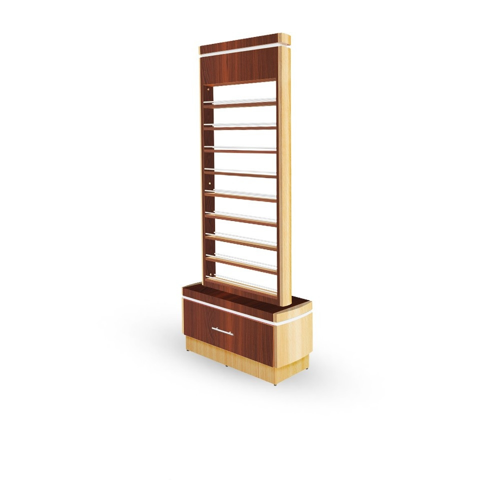 Floor Wooden Nail Polish Rack Excellent Quality Nail