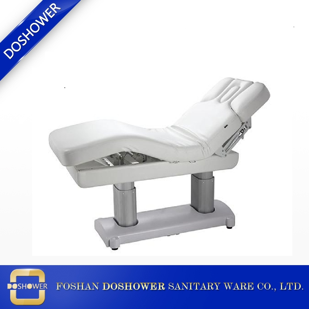 Lit de beaut de lit de massage lectrique en bois solide de station thermale r sistante pour le - Lit de massage electrique ...
