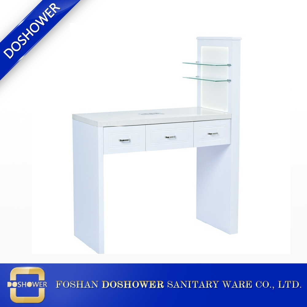 Nail Table With Extractor Cheap Salon Desk Fan Nail Table