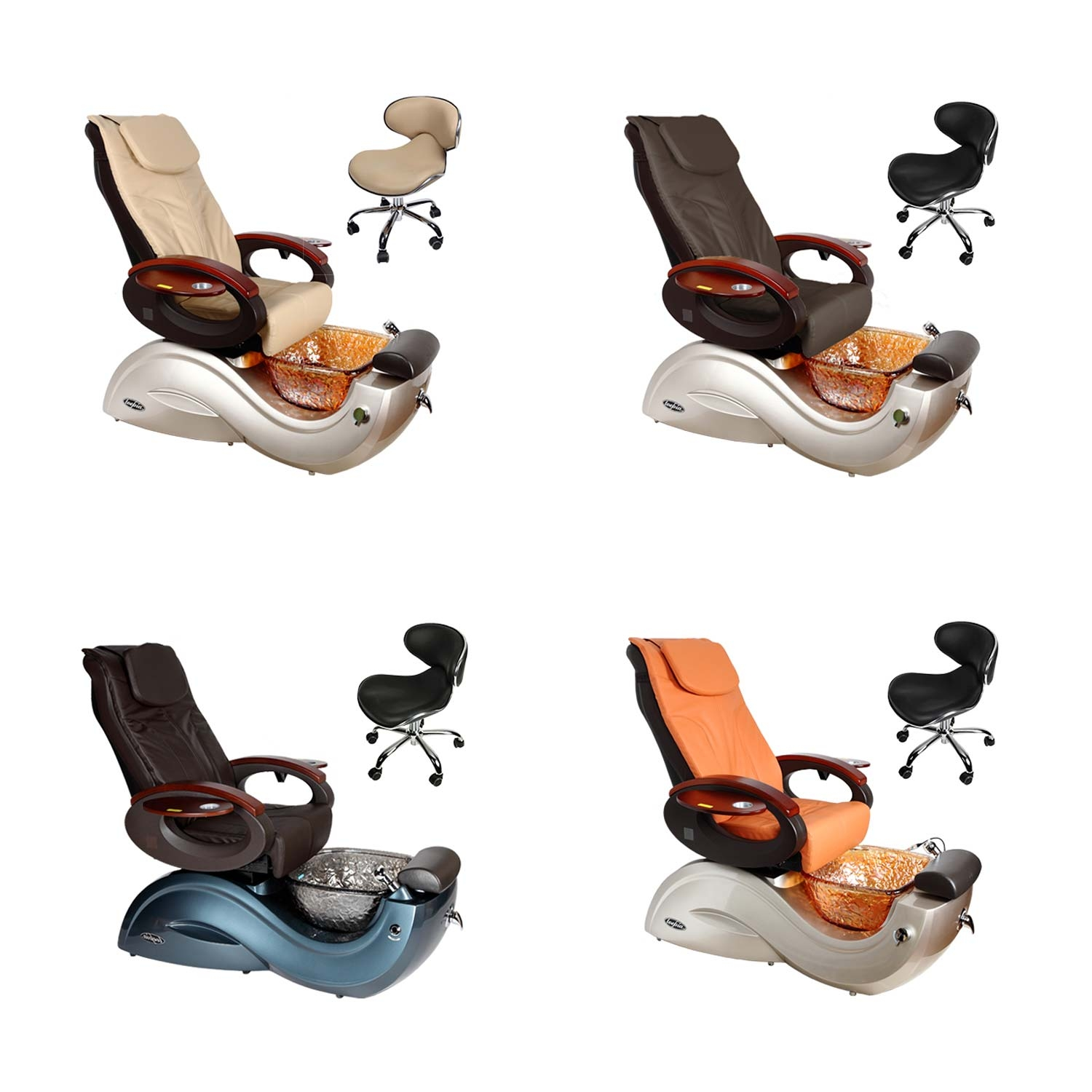 New Pedicure Spa Chair Nail Suppliers For Beauty Salon
