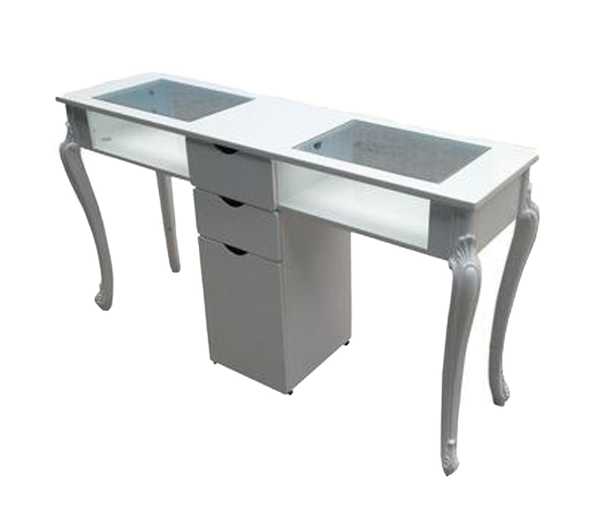 China Used Manicure Table With Nail Table Factory China