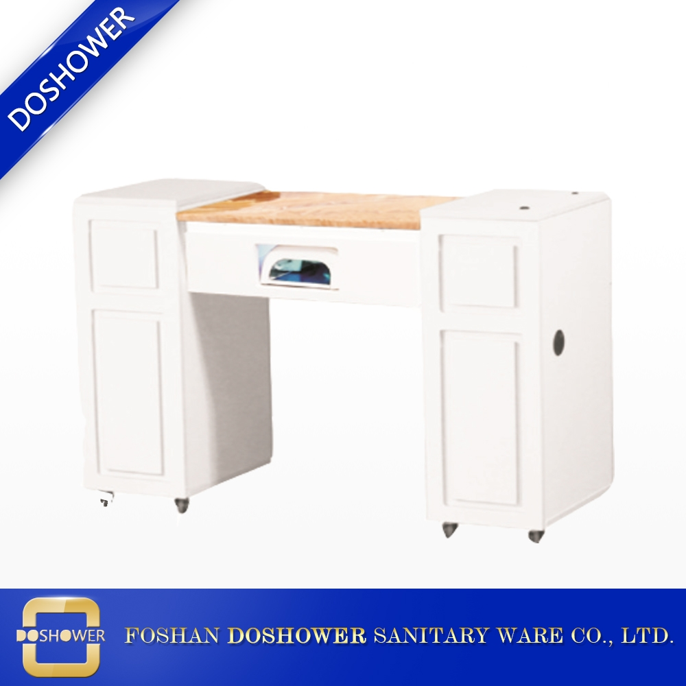 Ordinaire Manicure Bar Table With Marble Manicure Table And Nail Manicure Table Fan  ...