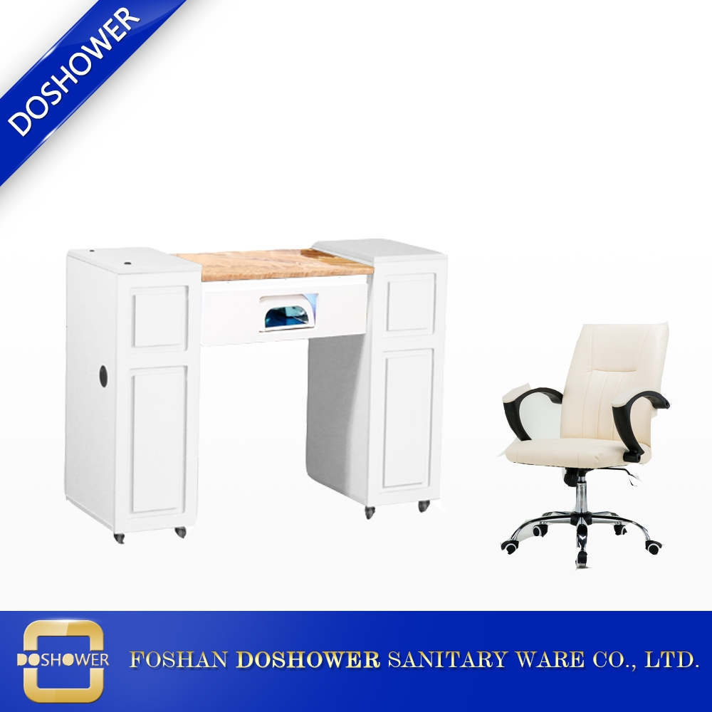 Ds N5a Manicure Bar Table With Marble Manicure Table And