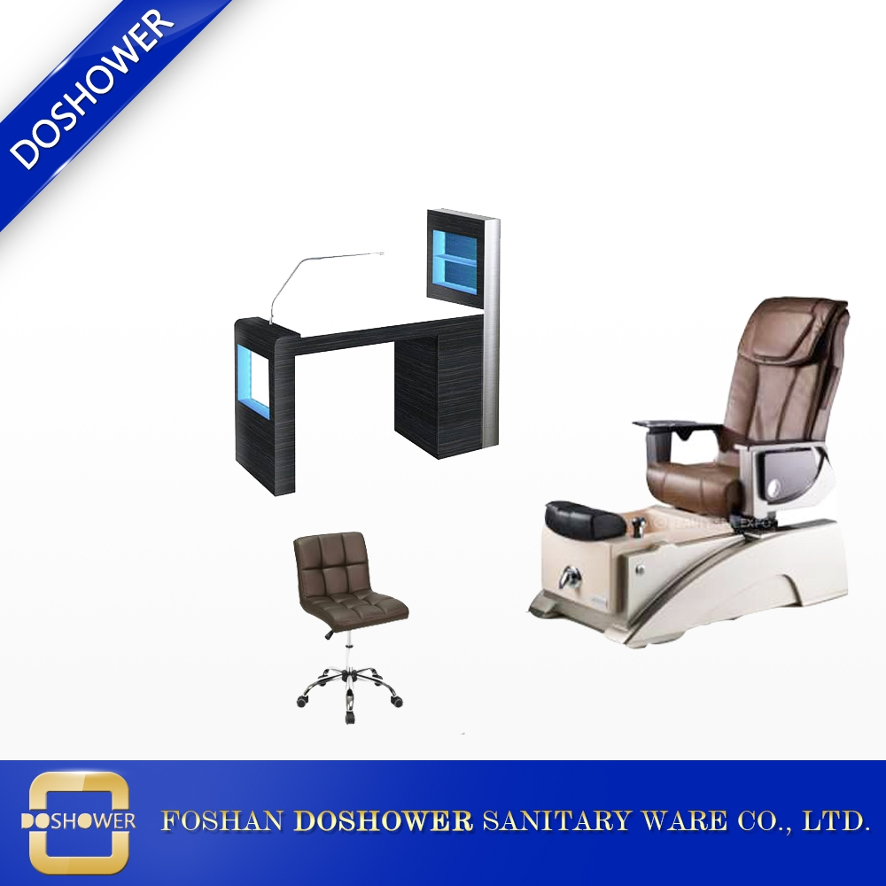 DS-W1775 Nail Salon Furniture Manicure Table With Manicure